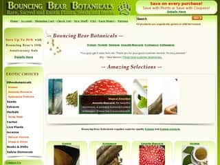 Bouncing Bear Botanicals coupon